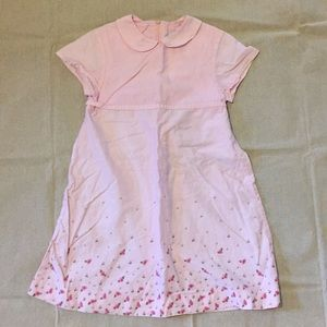 Spring/Summer Little Girls Modest Pink Dress